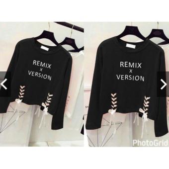 tokolobo blouse RMX black