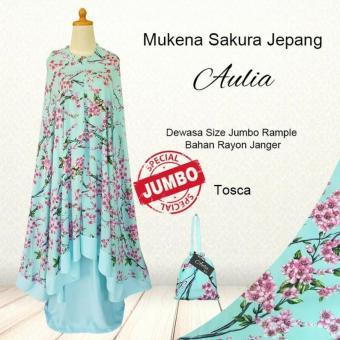 [TOSCA] - Mukena Bali Jumbo Rempel Sakura Jepang