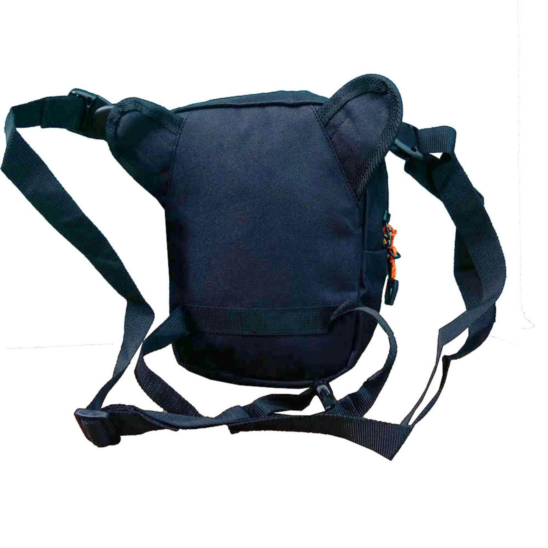 ... Review of Tracker Tas Slempang Tas Paha Tas Pinggang 3in1 40702 8 Original Black belanja murah