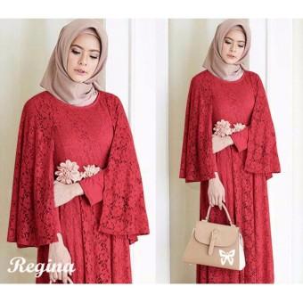Baju muslim & Jumpsuit - Dress wanita - Gamis pesta - Baju gamis - Gamis wanita