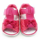 Gambar Produk Rinci TrendiShoes Sandal Bunyi Anak Bayi Perempuan Pita - Fuchsia Terkini
