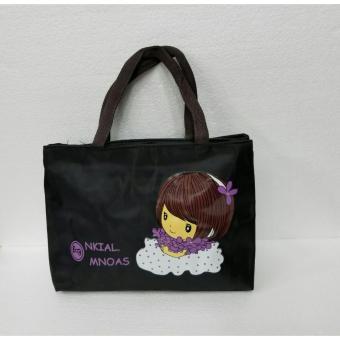 universal tas fashion wanita tote bag-tas cantik hitam