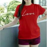 Detail Gambar Vanessa Tumblr Tee / T-Shirt LOVE / T-shirt Wanita / Kaos Cewek / Tumblr Tee Cewek / Kaos Wanita Murah / Baju Wanita Murah / Kaos Lengan ...