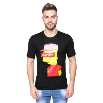 Vanwin - Kaos T-Shirt Distro Premium Supreme People - Hitam