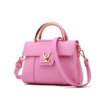 Vicria Tas Branded Wanita - Korean High Quality Bag Style - LIGHT PINK
