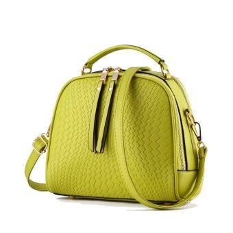 Vicria Tas Branded Wanita - Women Korean Elegant Bag Style High Quality PU Leather - Hijau