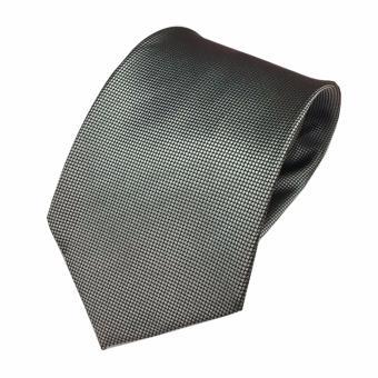 VM Dasi Fashion Slim Polos bIntik - Slim Tie Silver Abu