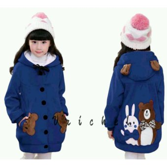 Vrichel Collection - Jaket anak perempuan Bear & bunny (Benhur)