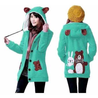Vrichel Collection Jaket Wanita Bear & Bunny (Tosca)