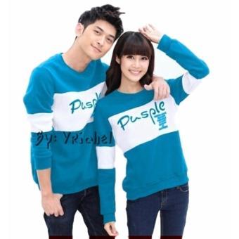 Vrichel Collection Sweater Couple Pusple (Turkish)