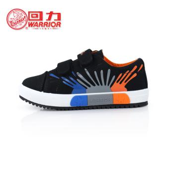 Warrior Sepatu Kanvas Anak-anak Sepatu Santai Baru (Sepatu Kanvas Wz-3682  Hitam 271d2017c8