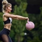 Gambar Lengkap Women High Waist Sports Gym Yoga Running Fitness Leggings Pants Workout Clothes - intl Beserta Spesifikasi