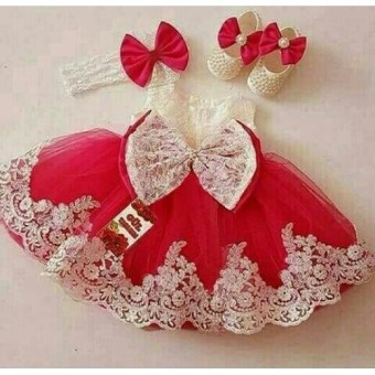 harga Xavier Baju Setelan Anak Wanita Lucu Princess / Dress Wanita / Usia 2 - 4 Tahun / Baju Setelan Imut NV (incesspr) /  Baju dan Rok Polos / Trendy Lucu Bagus Merah  Dress princess Lazada.co.id