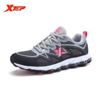 XTEP Baru Tiba Wanita Air Cushion Fashion Sport Sneakers Low Top Classics Menjalankan  Sepatu Wanita Athletic 9a6e48177d