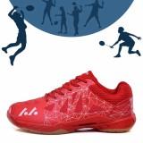 Gambar Produk Rinci YEALON Badminton Shoes For Men Man Shoes Badminton  Women Training Hard-Wearing Anti-Slippery Light Sneakers Sport Cushion  36-45 Red ... 5ebfea6c83