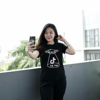 YGTSHIRT - T-shirt TIK TOK TIKTOK Tumblr Tee Cewek / Kaos Wanita / Tshirt