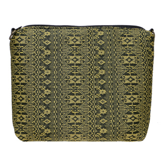 Zada Valerie Pouch - Black Yellow