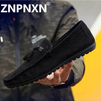 ZNPNXN Man'S Slip-Ons&Loafers Fashion Leather Shoes - intl