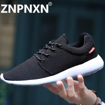 Znpnxn Pria Olahraga Sepatu Lari Merek Atletik Sepatu Pria Jogging Bernapas  Foldaway Mengemudi Luar Ruangan Sneakers 6d1ab57c5f