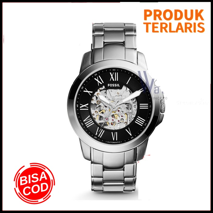 jam tangan pria fossil me3103p grant automatic original automatic fashion pria anti air outdoor kado branded watch keren formal bergaransi !!!