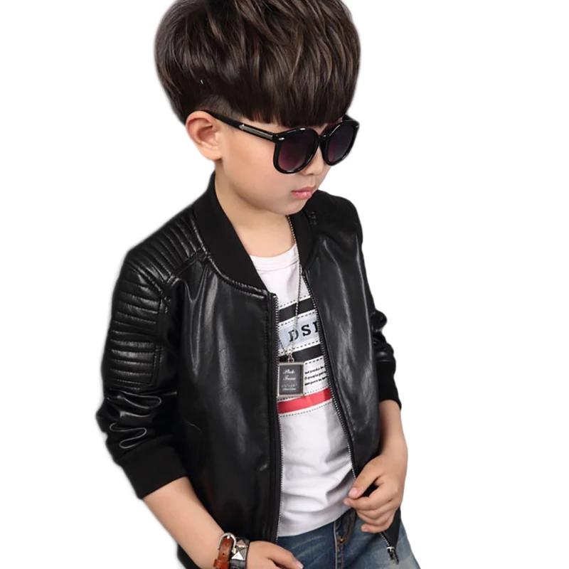 jaket kulit anak laki laki cool