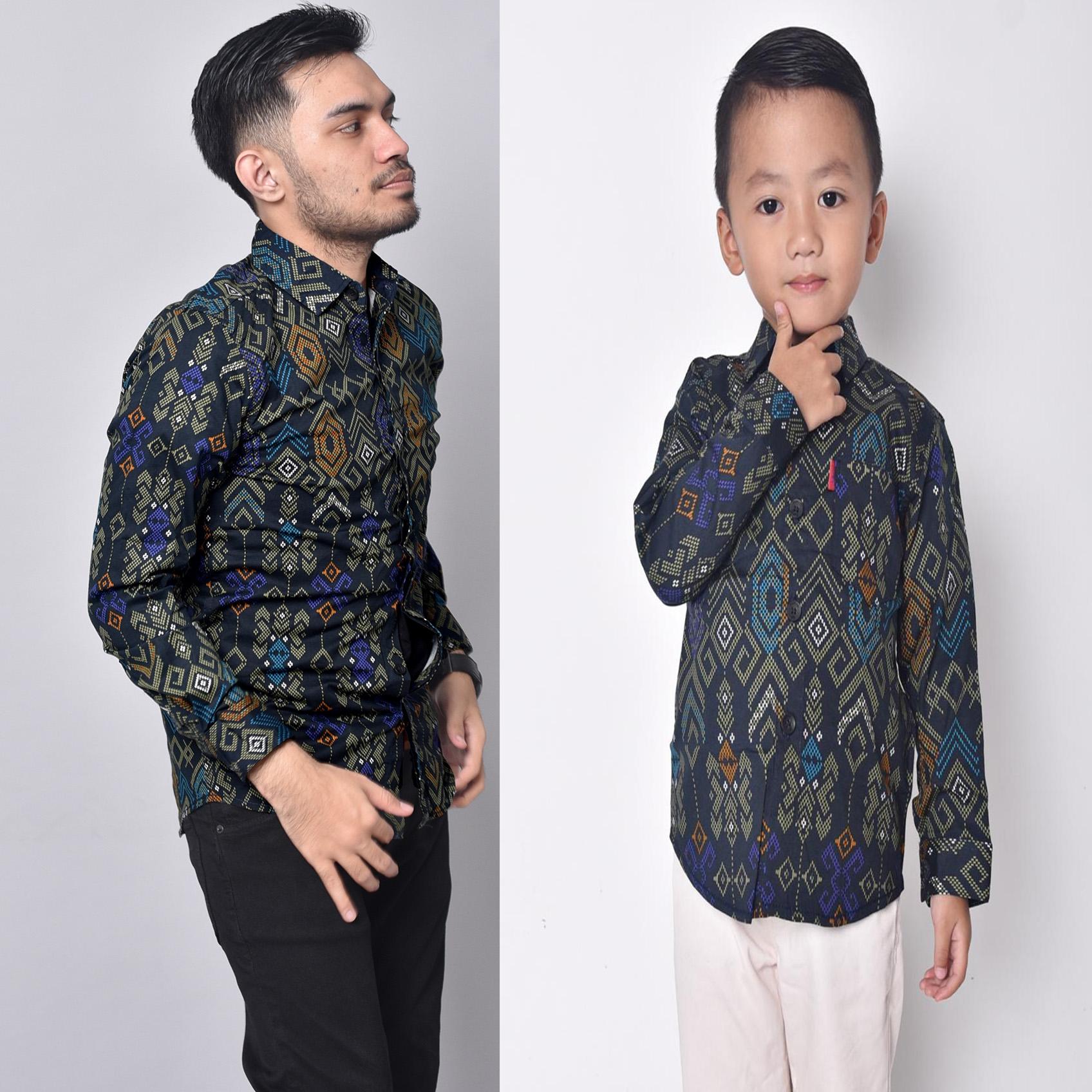 3lstore kemeja anak 1 – 11 tahun atasan batik bayi balita kid fashion anak cowok laki baju batik seragam 1 set keluarga (tanpa anak cewe kemeja anak jumbo) kemeja panjang couple 1216