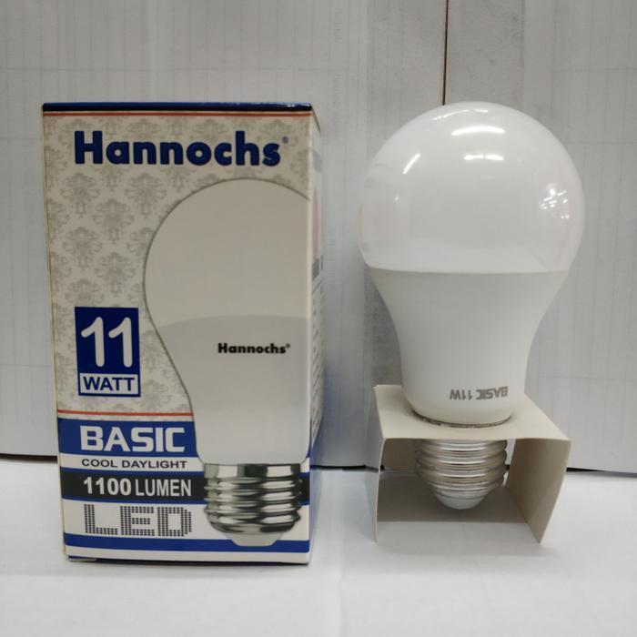 ... Lampu LED Hannochs Basic 11w 11 Watt Putih - Bohlam Hemat Listrik - 4