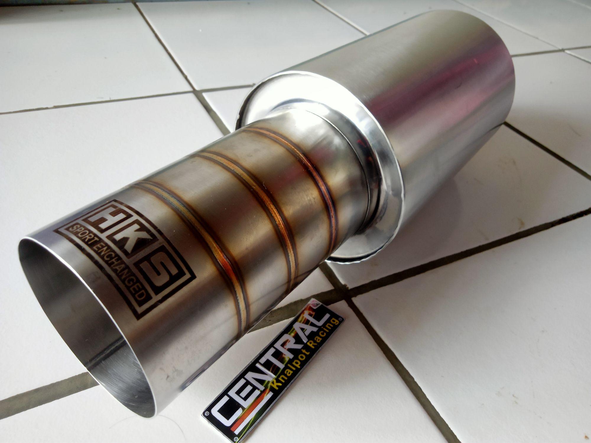 knalpot racing mobil  berkualitas knalpot racing mobil hks titan