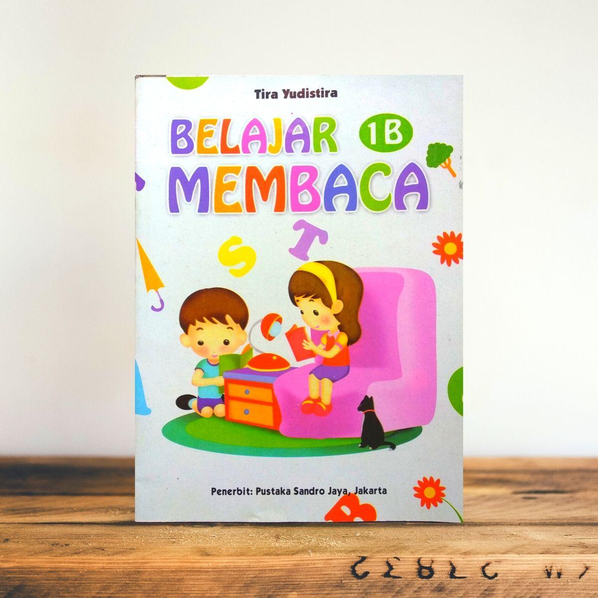 buku belajar membaca untuk anak / buku anak belajar membaca jilid b