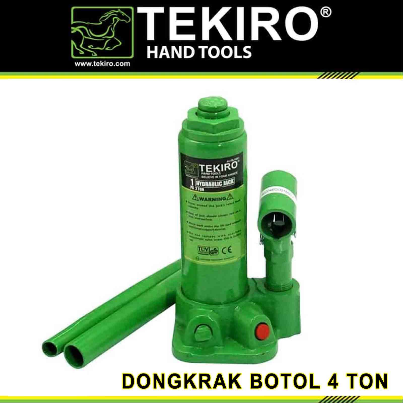 dongkrak botol tekiro 4 ton / dongrak mobil 4 ton tekiro au-bj1002