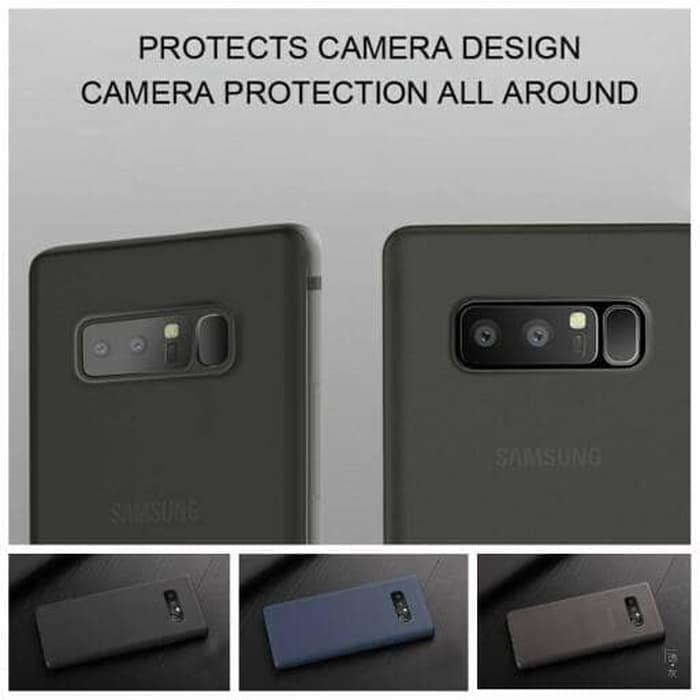 ... Soft Case CAFELE ORIGINAL Samsung Note 8 Matte TPU Ultrathin tipis - Hitam - 5