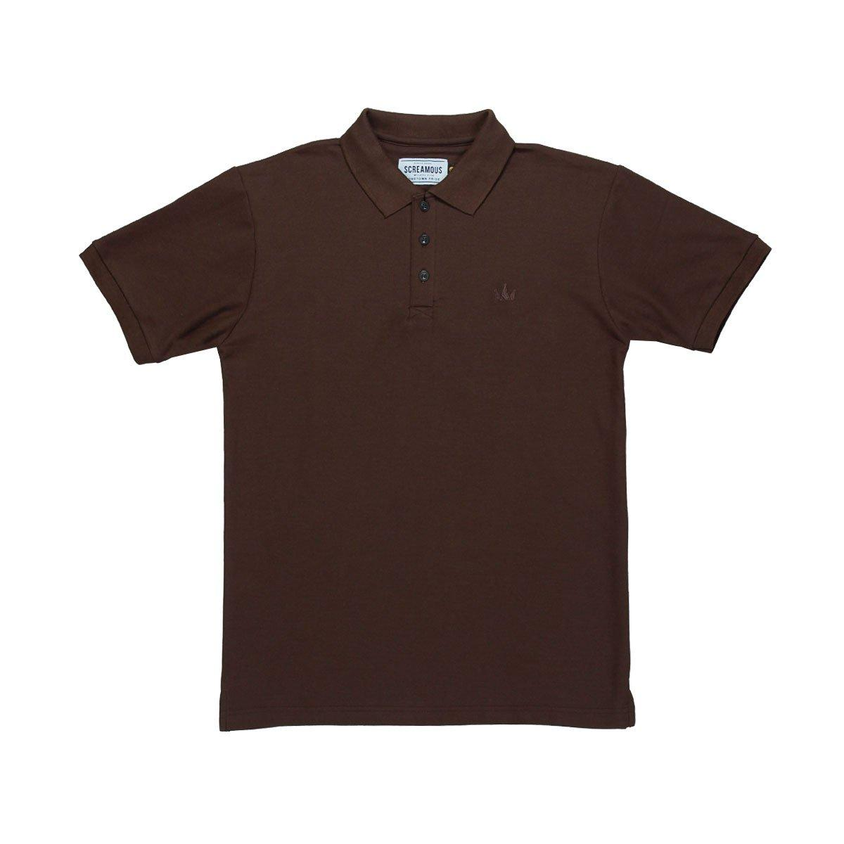Polo Screamous Abba#3 Brown