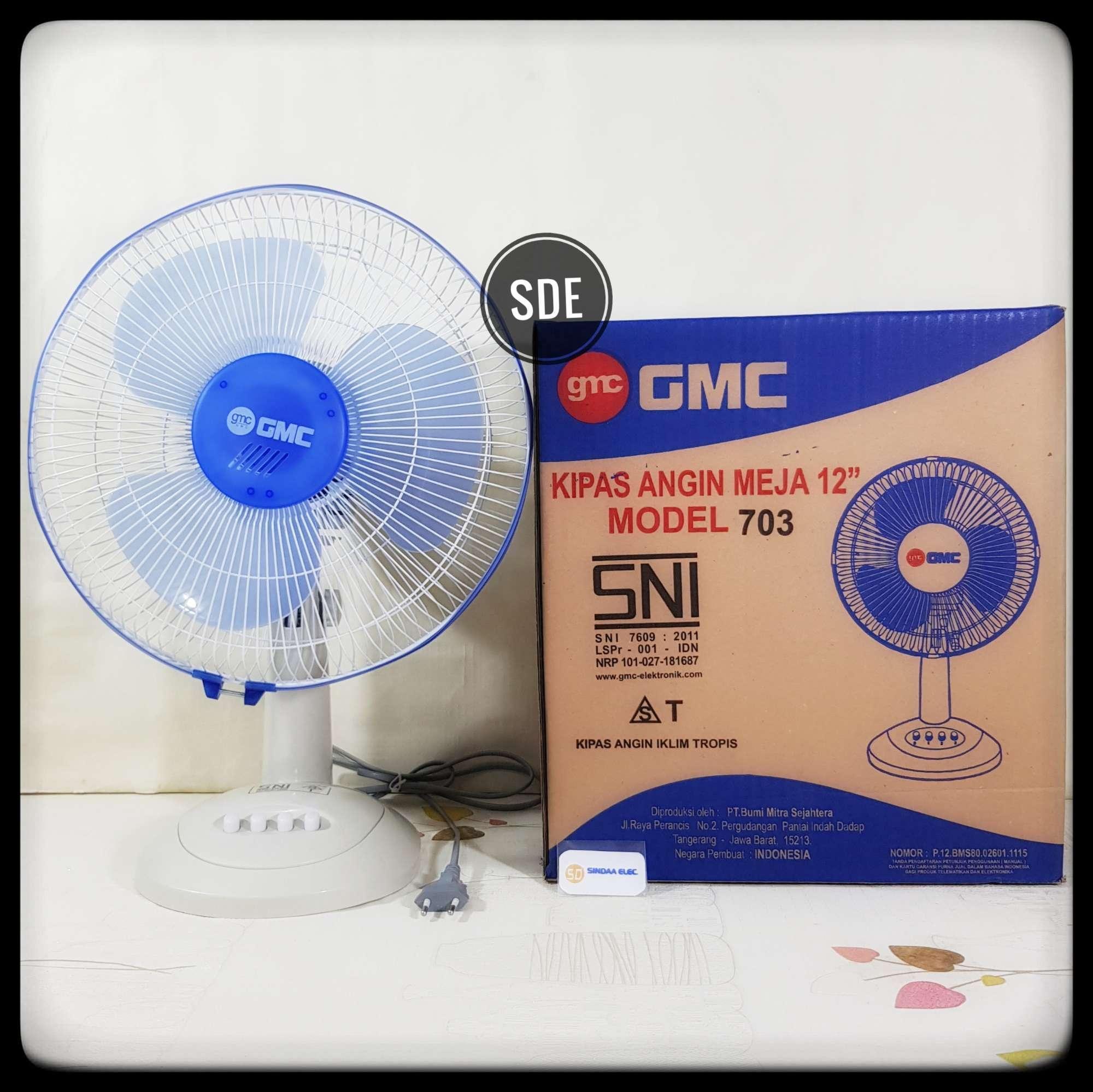 kipas angin meja gmc 703 12 inchdesk fan gmc 703kipas angin desk fan gmc