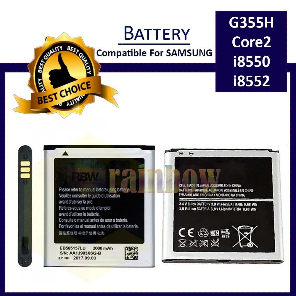 Baterai High Quality Compatible For Samsung G355H / CORE2 DUOS I8550 I8552 Type EB585157LU Batere Batrei