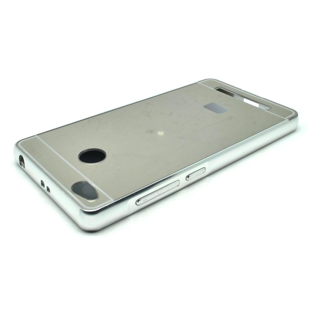 Review Aluminium Bumper With Mirror Back Cover For Xiaomi