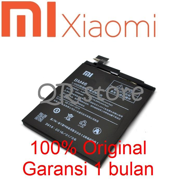 Baterai Battery Batre Xiaomi Redmi Note 3 BM46 Original. Battery Xiaomi Redmi Note 3 BM46