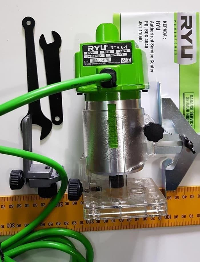 ... RYU Mesin Router Trimmer Profil Kayu Wood RTR 6 - 1 skls modern bitec - 3