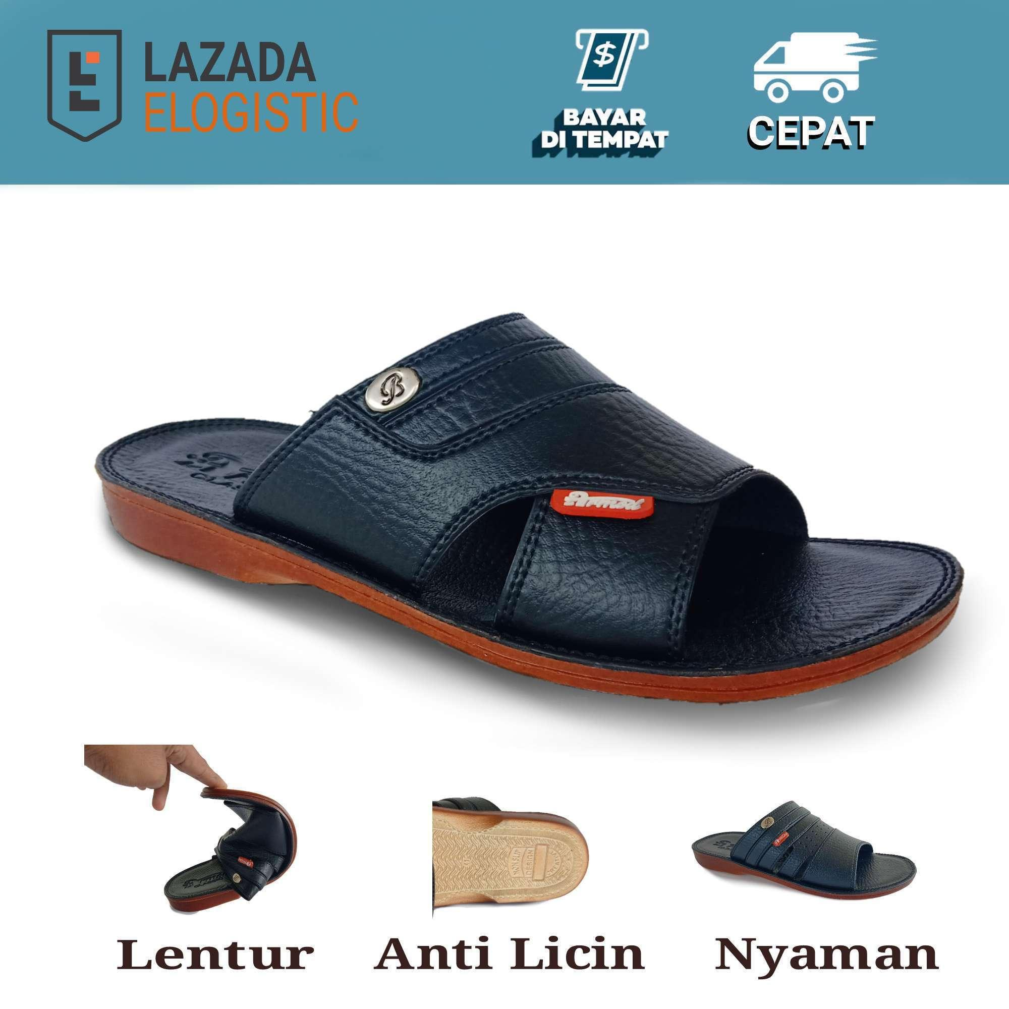 sandal pria / sandal pria kulit / sandal kulit casual / sandal pria kulit  / sandal pria  / sandal kulit santai / armod sbr 031