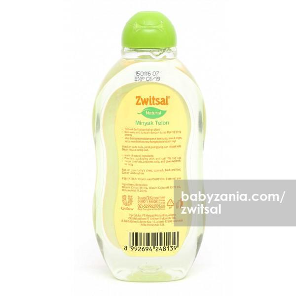 Detail Gambar Zwitsal Natural Minyak Telon 100 ml Terbaru