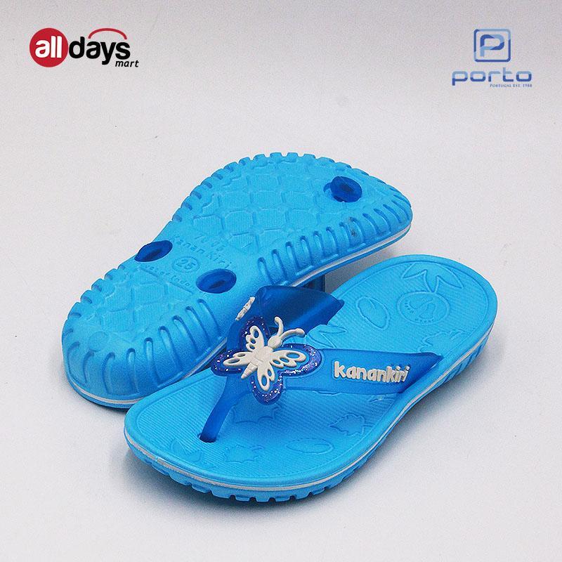 Detail Gambar KananKiri Sandal Jepit Anak Perempuan T7005 Size 19-24 Terbaru