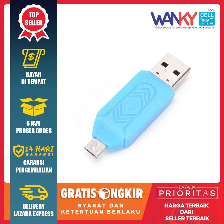 Wanky OTG Card Reader SD/T - Flash Card For Smartphone & Micro SD