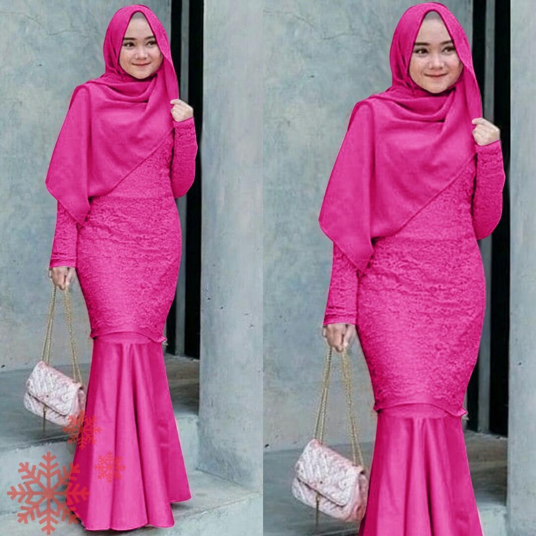 Review Ema Shope Pakaian Baju Gamis Muslimah Gamis Brukat Corneli