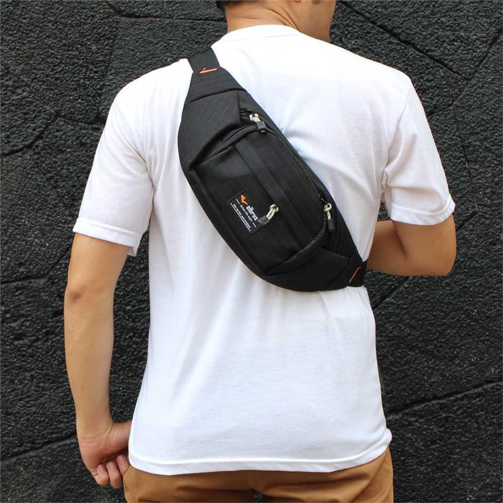 tas slempang / selempang / waist bag / tas pinggang cowok pria distro ori  2020 outvin tl 251