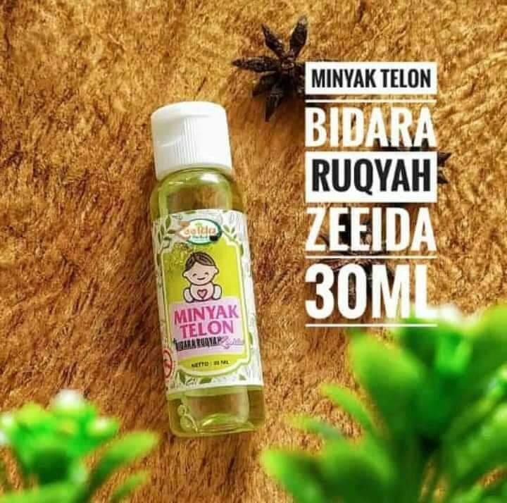 minyak telon bidara ruqyah  zeeida 30ml mengatasi masuk angin /perut kembung / melindungi bayi dari gangguan jin