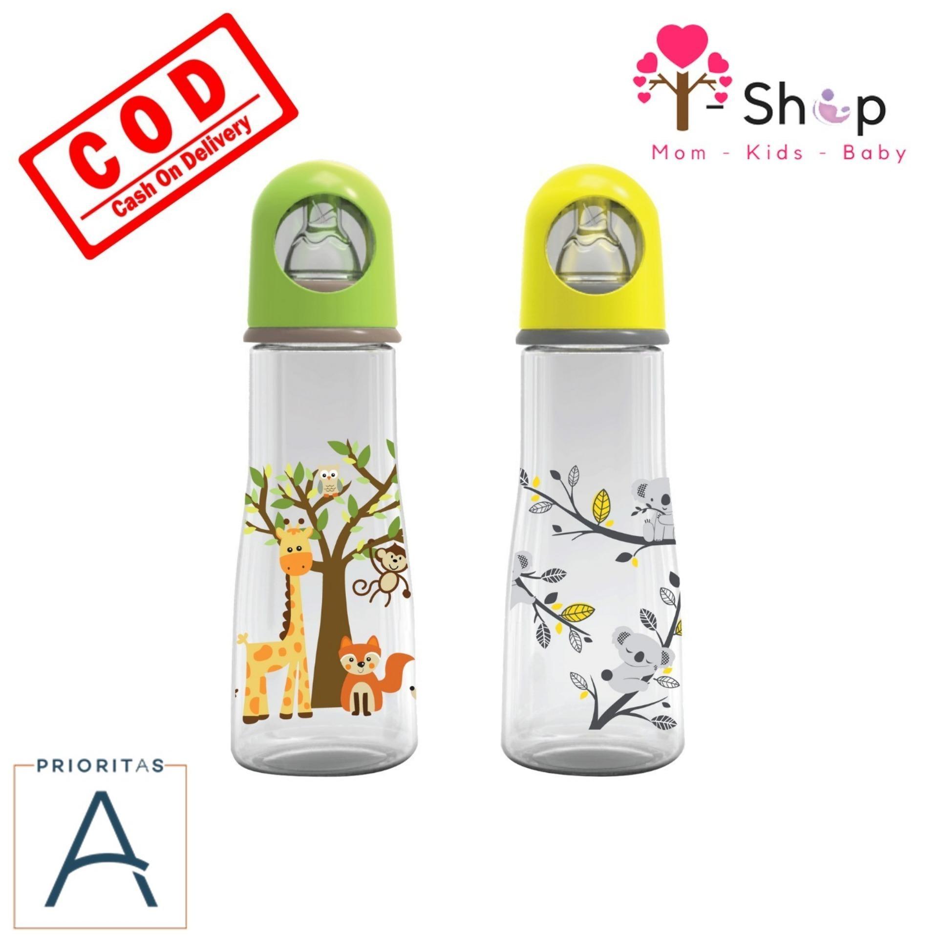 i-shop Baby Safe Paket 2 Botol - Feeding Bottle 250ml / Botol Susu Bayi