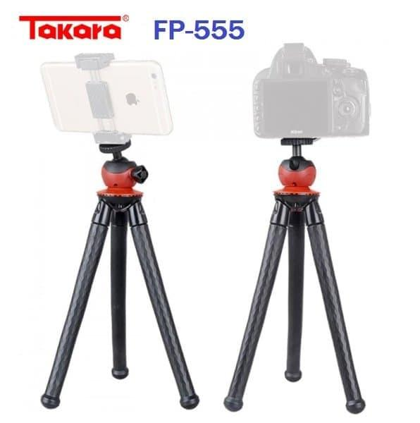 Detail Gambar Gorilla Tripod Flexible Takara FP-555 CAM DSLR HP Setara FP555 Gizomos - ready stock Terbaru
