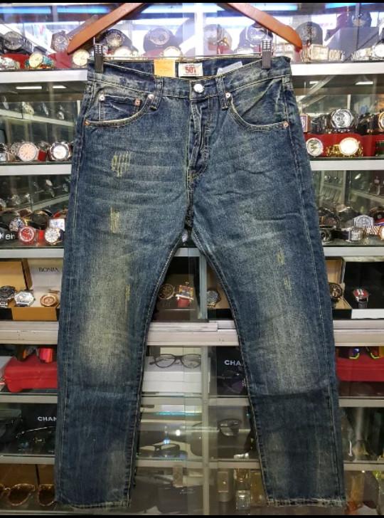 celana levis 501 original usa / celana jeans 501 pria model  / celana levis pria original / levis 501 / made in usa