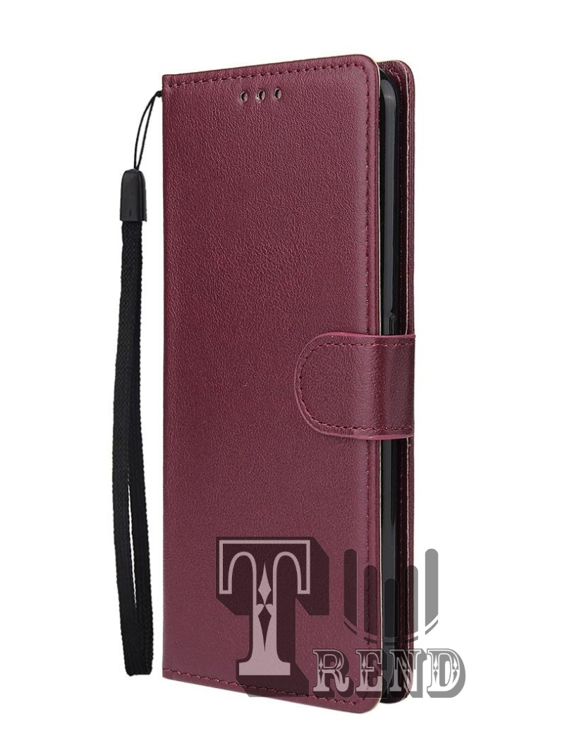 leather case flip untuk oppo reno 3-flip  wallet case kulit oppo reno 3- casing dompet-flip cover leather-sarung buku hp