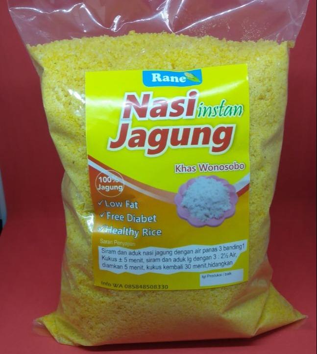 beras nasi jagung kuning instan premium rendah gula anti diabetes khas wonosobo 1 kg