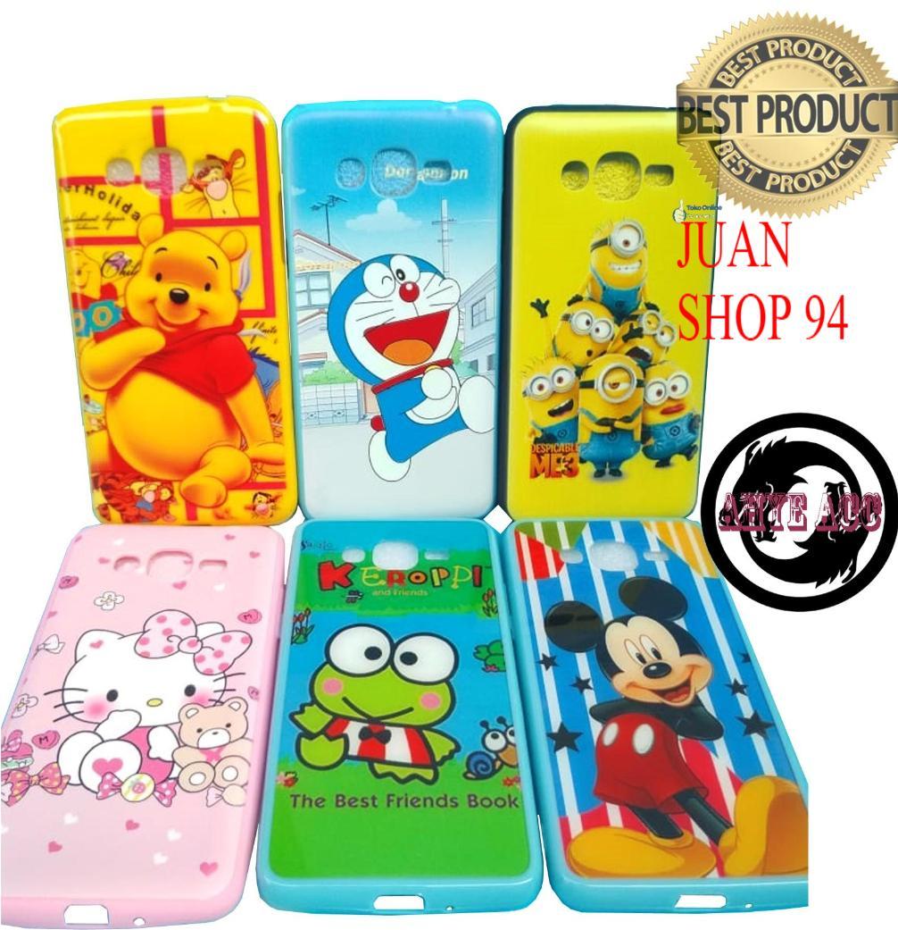 JN SHOP Case Softcase Motif Cantik MURAH Samsung Galaxy J2 PRIME / Grand Prime G530 -